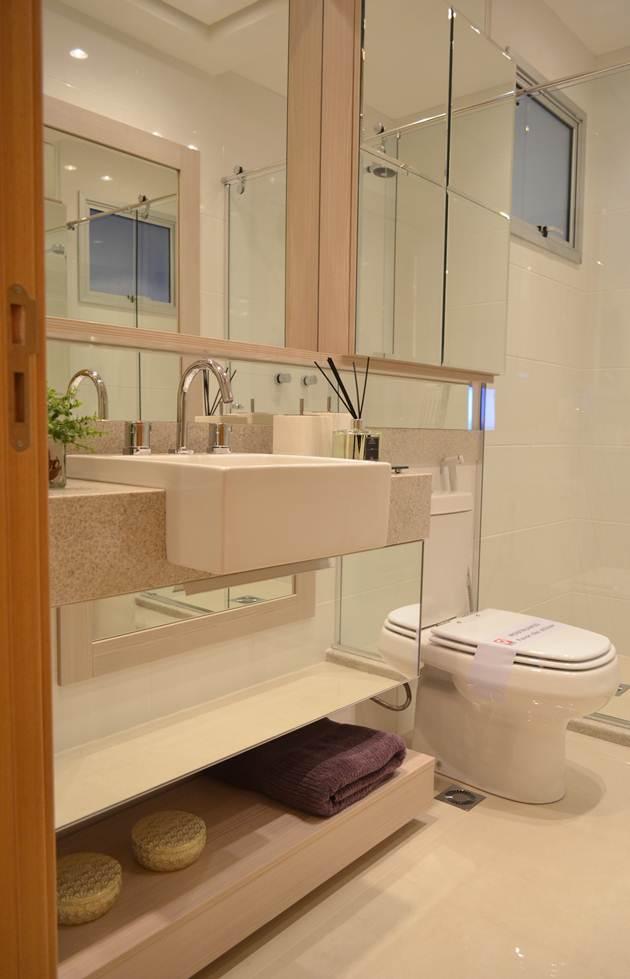 Decor Banheiros Pequenos  4Ladies Blog! # Meu Banheiro Pequeno Decorado